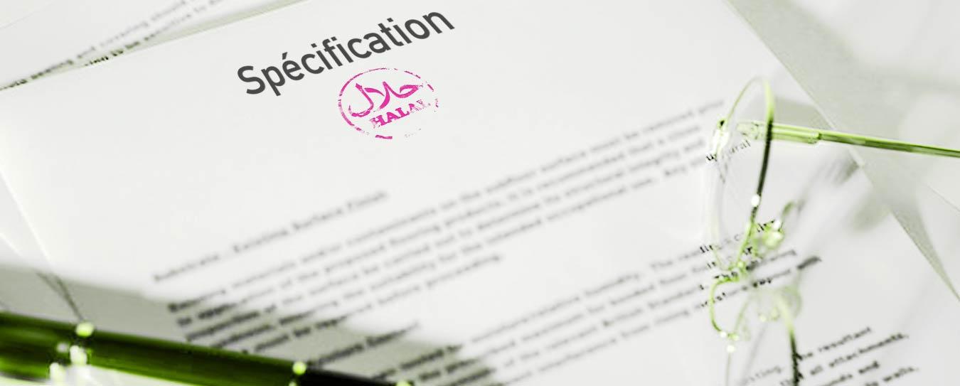 spécification - cahier des charges; conditions hygiéniques; abattage rituel: inspection; abattage volaille; transformation; vente; animaux